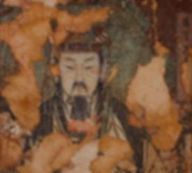 Monje budista. 27x27 cm. 2008.jpg