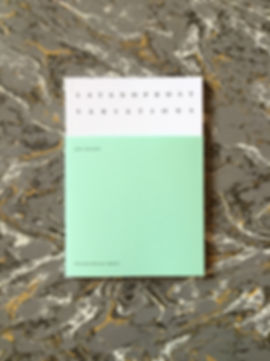 Latanoprost Variations Jeff Hilson – UEA Publishing Project – Boiler House Press – Poetry Series – Emily Benton Book Design