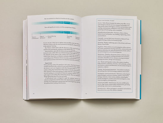 Mantle of the Expert by Tim Taylor – Book design, page layout and typesetting by Emily Benton Book Design | UK