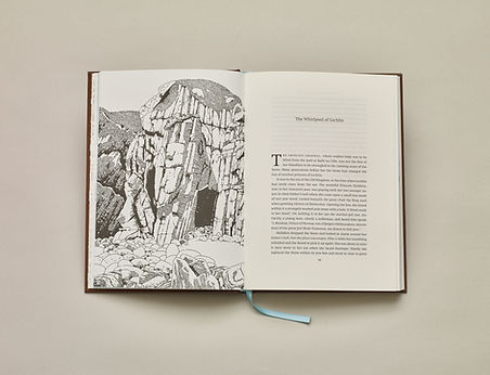 A Telling of Stones by Neil Rackham, illustrations by Alisdair Wiseman – Book design, page layout, typesetting and production management by Emily Benton book designer UK