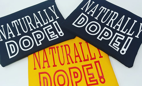"""""""Naturally dope"""" clutch"""