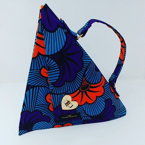 """Kali"" triangle handbag"