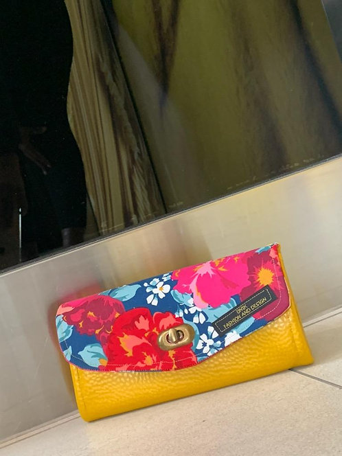 Yellow blossom wallet