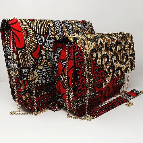 """""""Zania"""" Ankara handbag"""