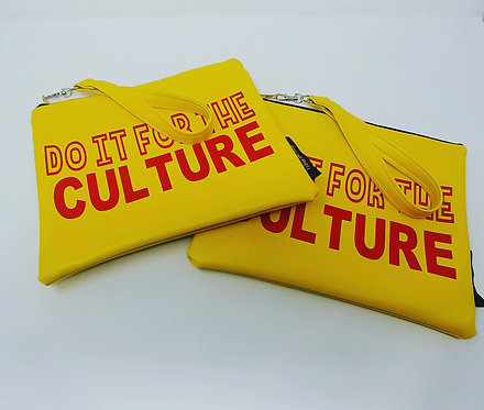 """""""Do it for the culture"""" wristlet"""