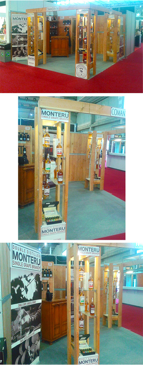 Monteru at Alimentaria in Barcelona