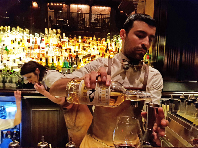 NOMAD BAR IN NEW YORK CITY ADOPTS MONTERU BRANDY