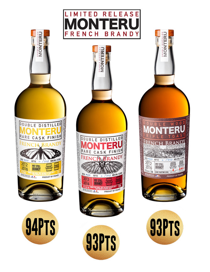 MONTERU WINS HIGH SCORES FROM THE BEVERAGE TASTING INSTITUTE
