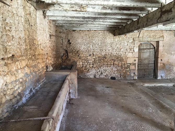 Monteru's Cellar Says 1898 on the Doorway