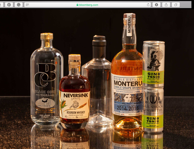 MONTERU IS LISTED AS BLOOMBERG'S 2018 TOP 15 MOST EXCITING SPIRITS
