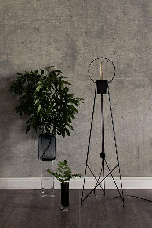 Cateye floor mood lamp by Massimo Cappella