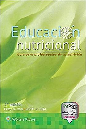 Educación nutricional. Guía para profesionales de la nutrición
