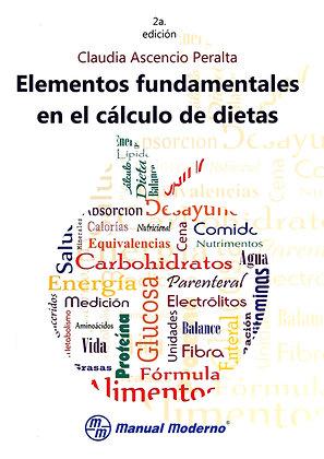 Elementos fundamentales en el cálculo de dietas.