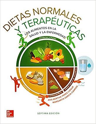 Dietas normales y terapéuticas.