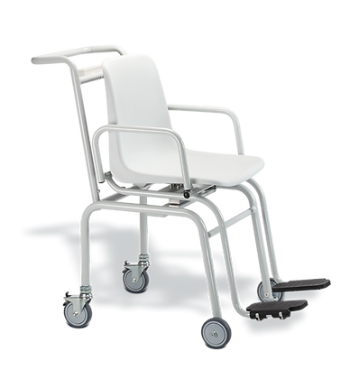 SECA 952 Báscula digital, silla con ruedas piernera de plástico 200 kg