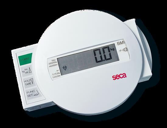 SECA 984 Báscula electrónica para cama o diálisis con mesa de transporte