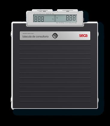 SECA 874dr Báscula digital de piso 200kg pantalla doble