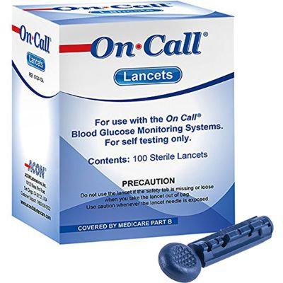 Lancetas On Call Plus c/100