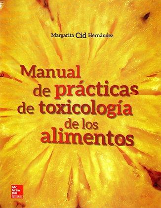 Manual de practicas de toxicología de los alimentos.