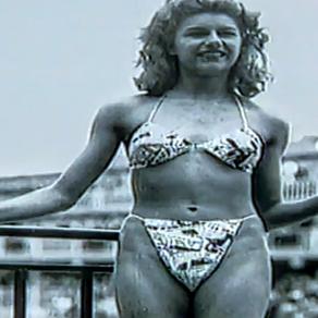 Itsy Bitsy Teenie Weenie Newspaper Print Bikini... Swimwear That Changed The World!