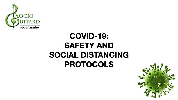 COVID-19 Safety & Social Distancing Protocols