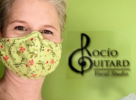 Why wearing a mask can wear out your voice