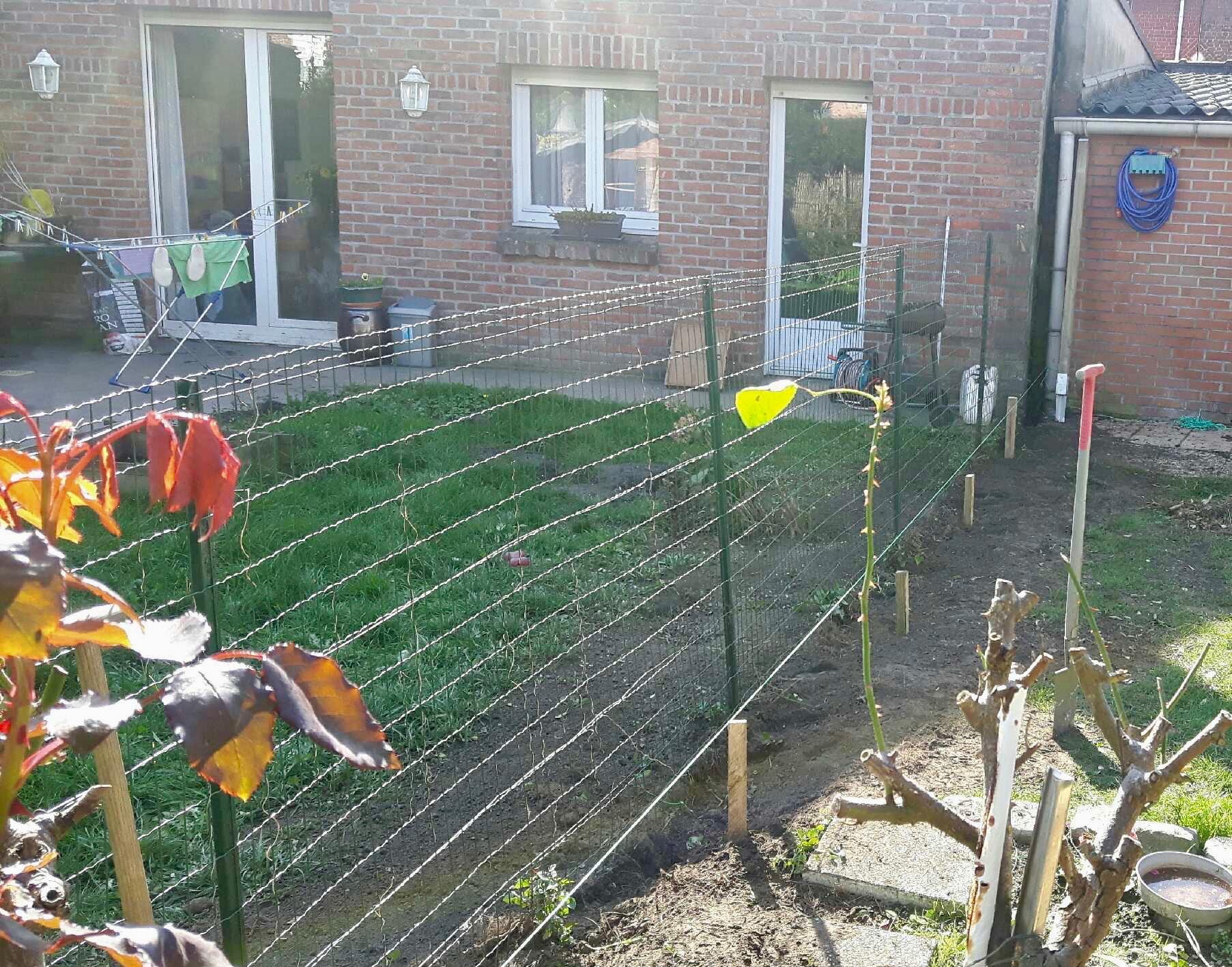 Bornage de la clôture