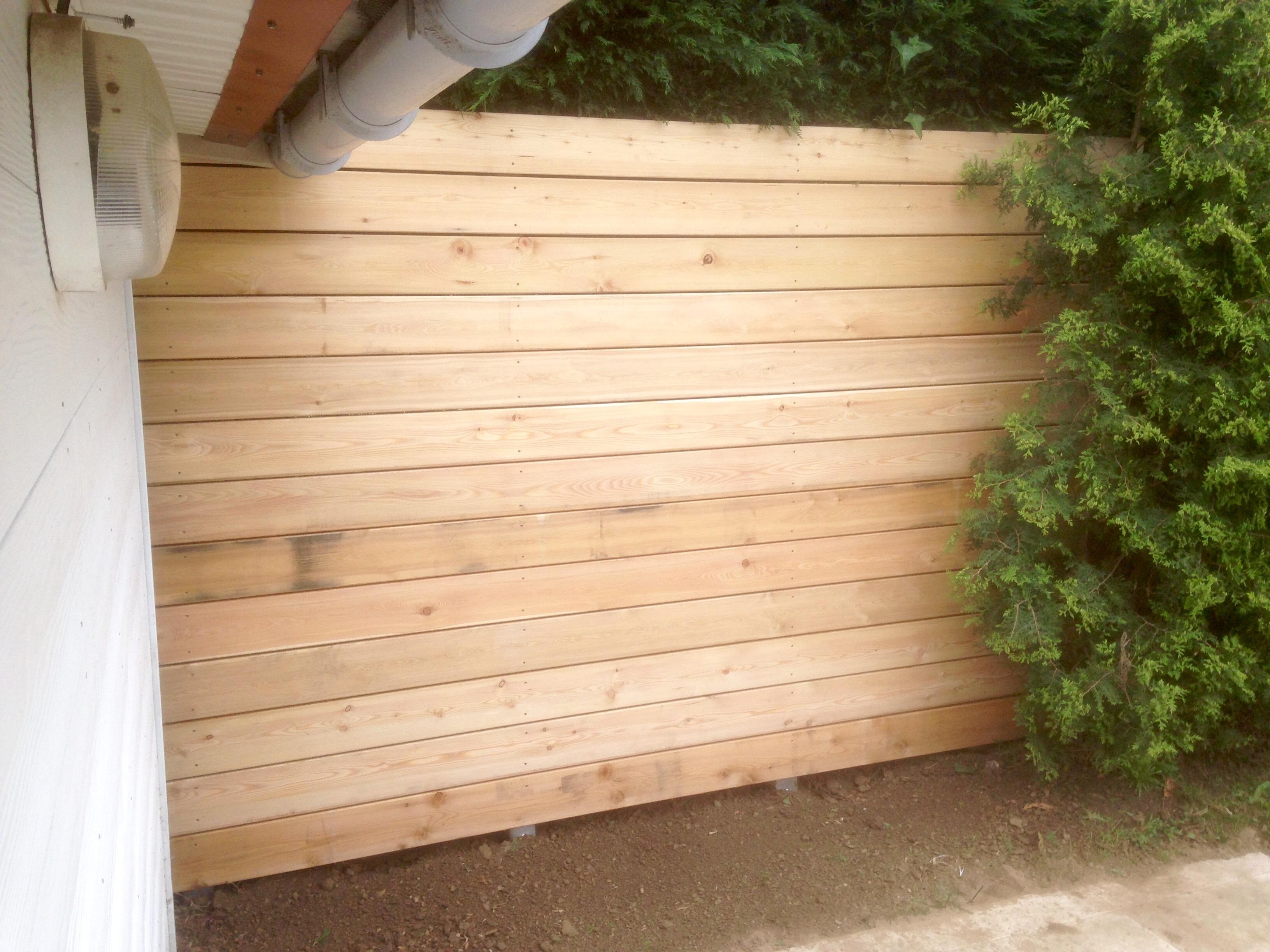 Ecran bois / terrasse