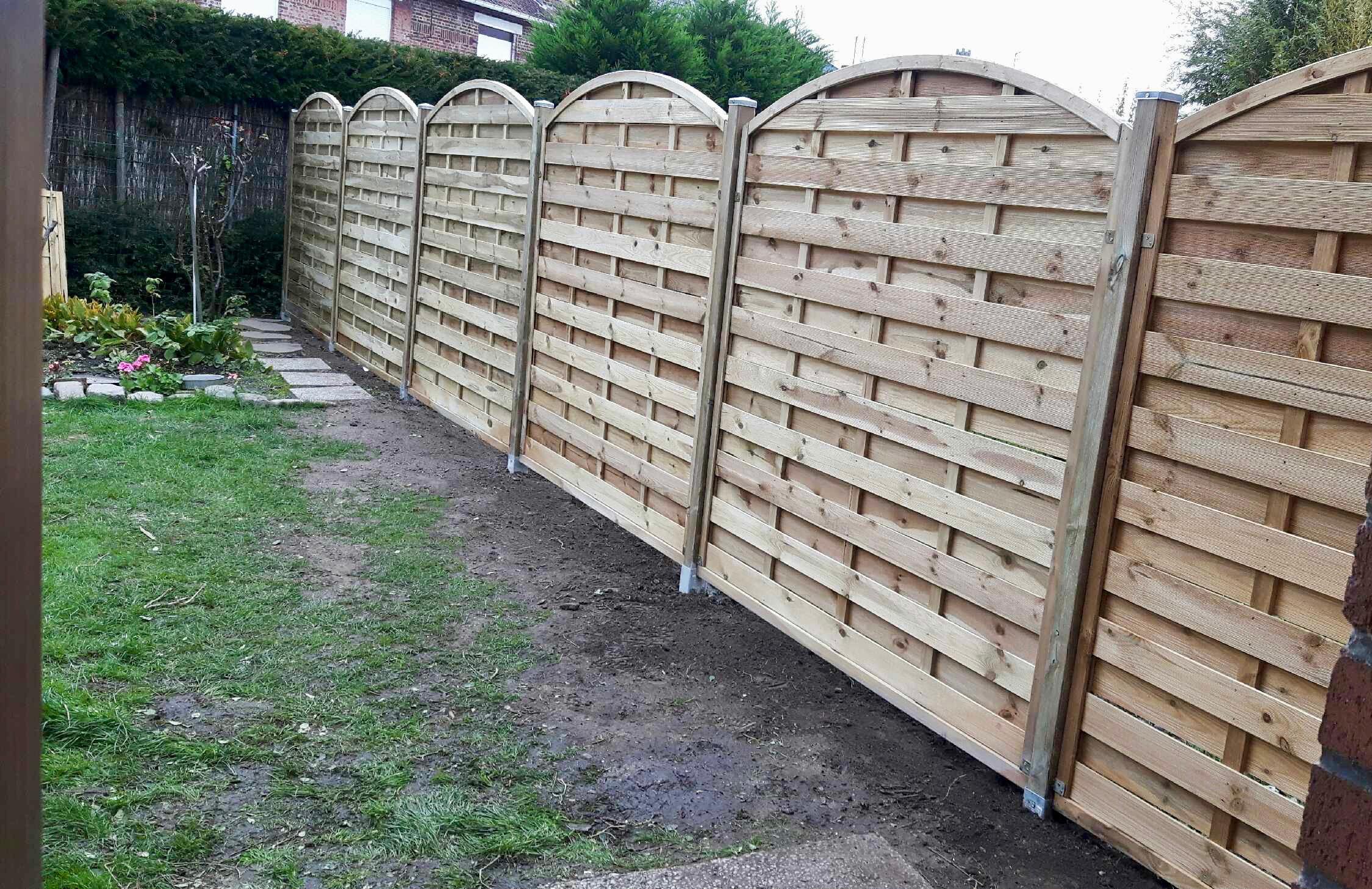clôture finie