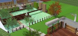 3D espace aquatique / ponton