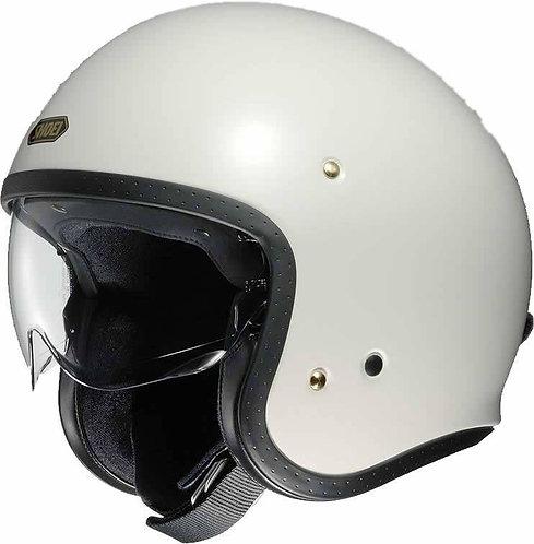 Shoei J.O. Openface Helmets Off White