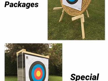 Egertec archery target packages now available!