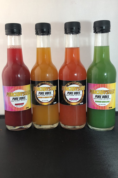 Punch by Shar 250ml - (Original Flavours)