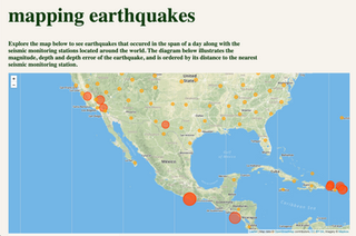 Mapping Earthquakes