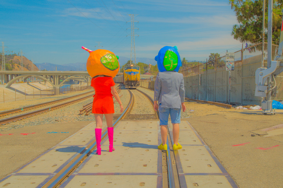 Bluezilla and L'Orange's Life Together 1 (Photo courtesy of @davesolophoto)