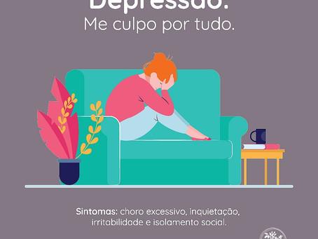 Depressão: me culpo por tudo.