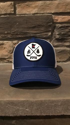 Frozen Pond Hockey Outdoors Trucker Hat