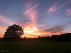 Sunset - Glevering Caravan Site