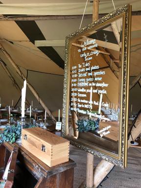 Field Hire for Suffolk Wedding