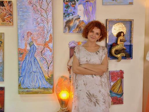 Εικαστικές Δημιουργίες της Καρμέλλας Στεφάνου