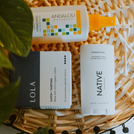 My Favorite Clean Beauty + Hygiene Products