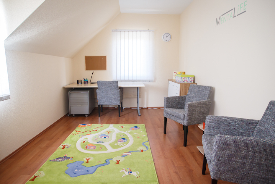 Gyermek pszichológus szoba