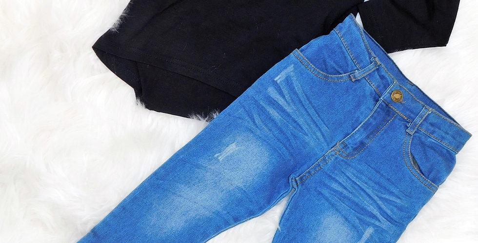 Black Long Sleeve W/ Pants