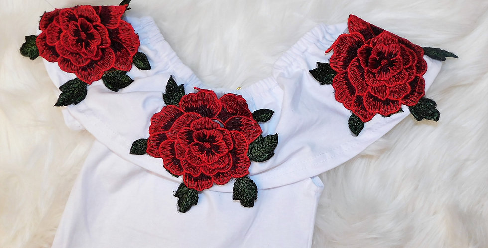 Red Rose 2pc