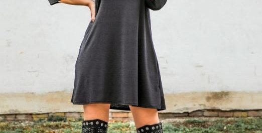 Contemporary Black Dress