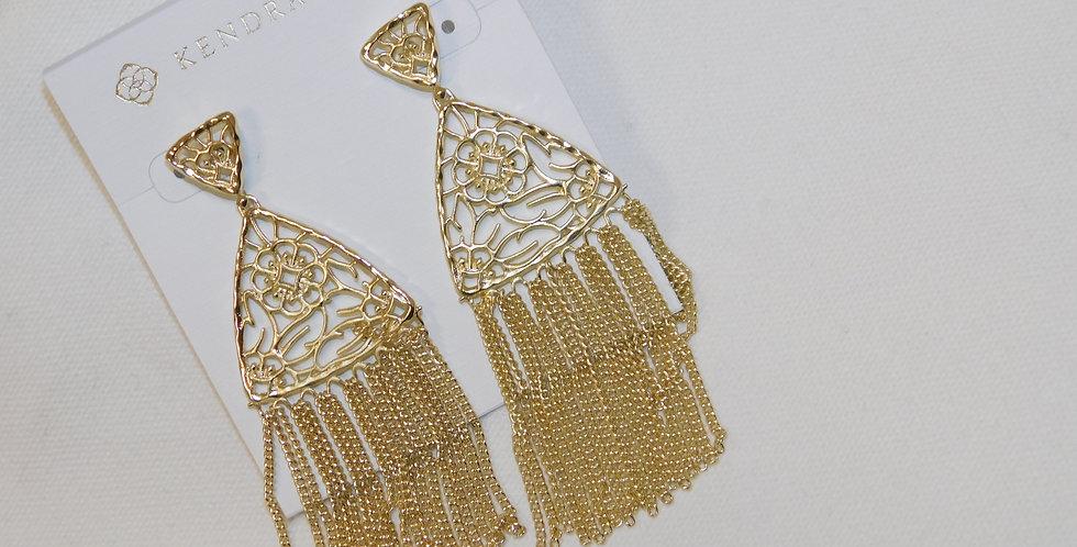 Gold Kendra Scott Ana Earrings
