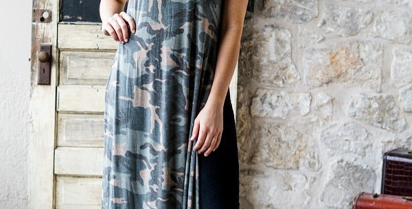 Camo Full Body Tunic