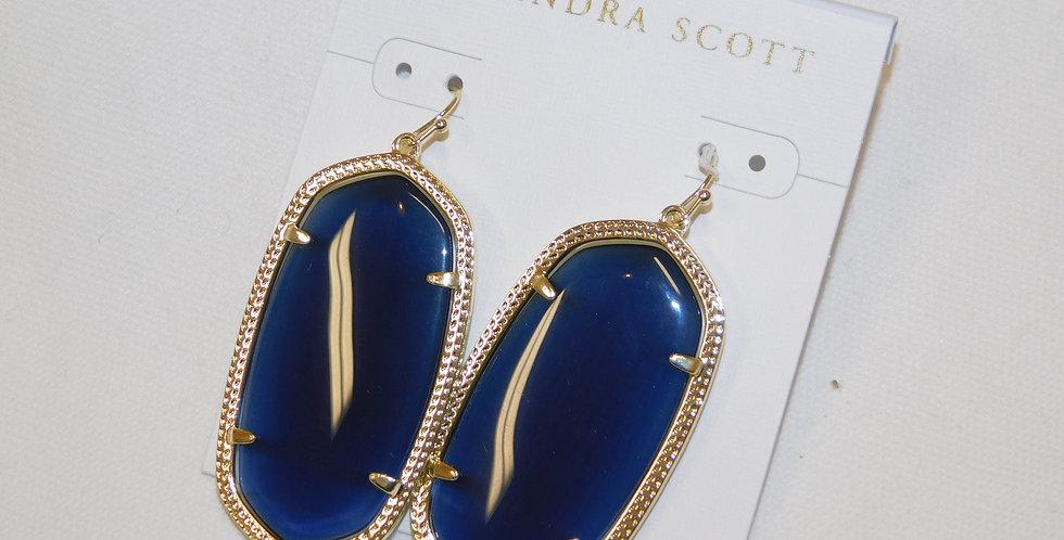Royal Blue Danielle Kendra Earrings