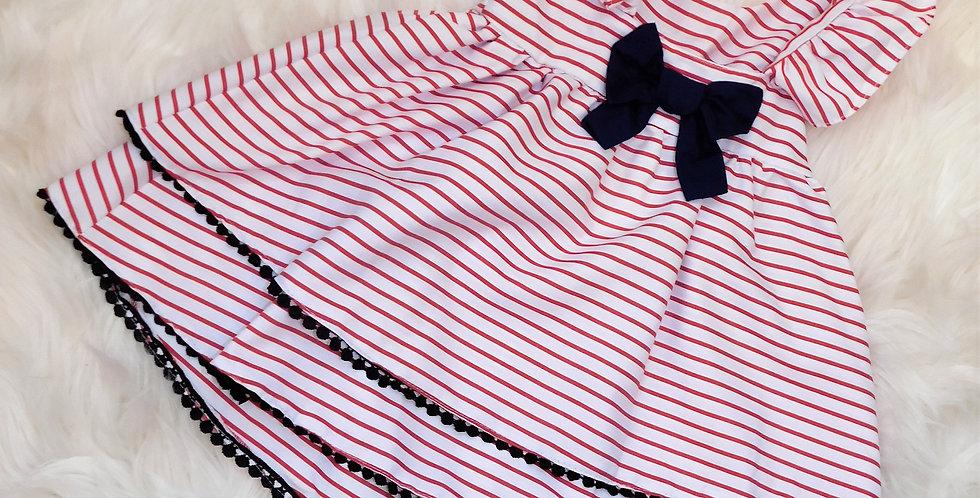 American Stripped Dress
