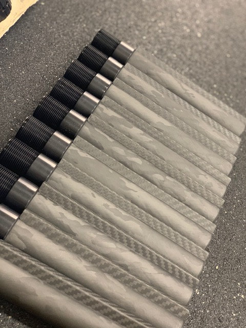 Carbon Fiber Buffer Tube - Commercial Diameter with Boss